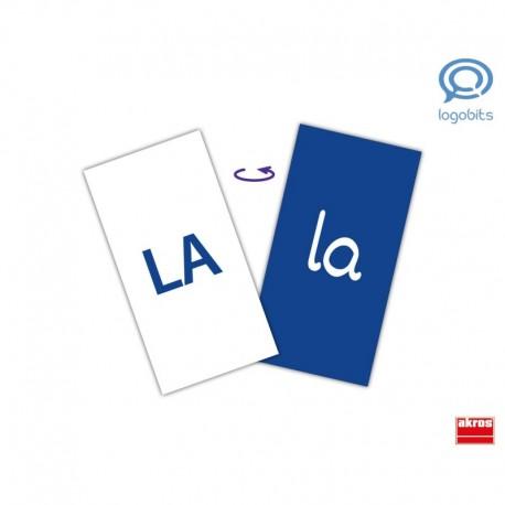 Lecto-bits de sílabas fonéticas para entrenamiento del habla y la lectura Fonoarticulación