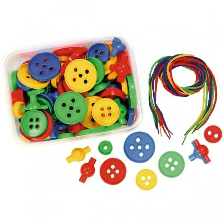 Set botones XXL enhebrar Enhebrar
