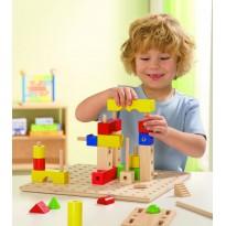 Ligno Construcción de 302 piezas CONSTRUCCIONES