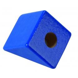 Cojín de espuma azul