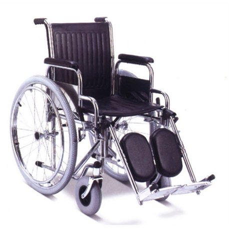 Silla de ruedas de acero 600 Sillas de ruedas