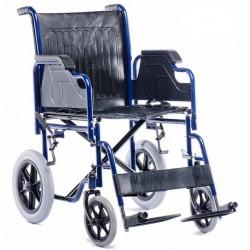 Silla de ruedas 600 maciza de acero Sillas de ruedas