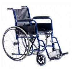 Silla de ruedas de acero hinchable Sillas de ruedas