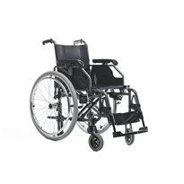 Silla de ruedas plegable de aluminio 600 Sillas de ruedas