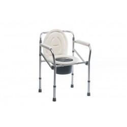 Silla inodoro de aluminio con patas Baño y ducha