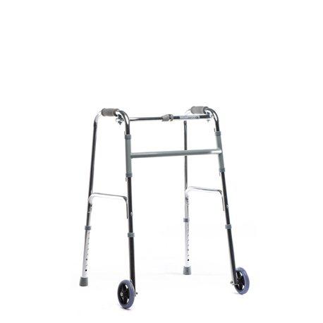 Andador de aluminio con ruedas delanteras Andadores