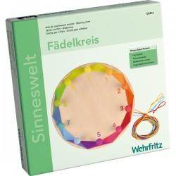 Círculo de tejer colorido