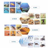Dónde viven los animales Categorización