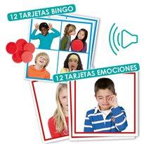Bingo: Sonidos de las emociones PICTOGRAMAS e IMAGENES
