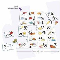 Macro puzzle abecedario ALFABETOS, NUMEROS y LETRAS