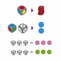 Clasificar colores y aprender a contar JUEGOS de CLASIFICACIÓN