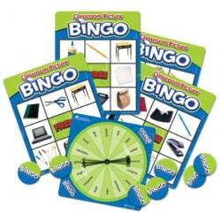 Bingo de Objetos en clase en Inglés JUEGOS MAGNÉTICOS