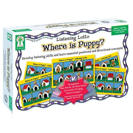 Where is Puppy? JUEGOS DE LOGICA
