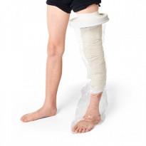 Protector impermeable pierna entera niños para ducha o baño ORTOPEDIA