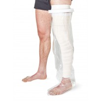 Protector impermeable pierna entera para ducha o baño Protectores vendajes y escayolas
