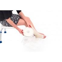Protector impermeable media pierna para ducha o baño Protectores vendajes y escayolas