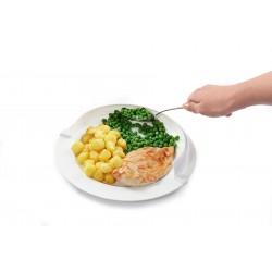 Reborde para plato blanco Platos