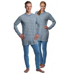 Pijama de una pieza doble apertura