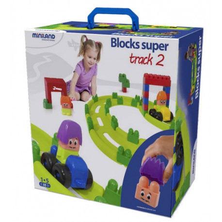 Set Track 2. Blocks Súper Racing CONSTRUCCIONES