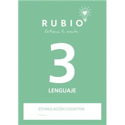 3 Lenguaje - cuaderno adultos Rubio Comunicación y lenguaje
