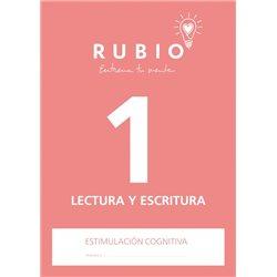 1 Lectura y Escritura - cuaderno adultos Rubio
