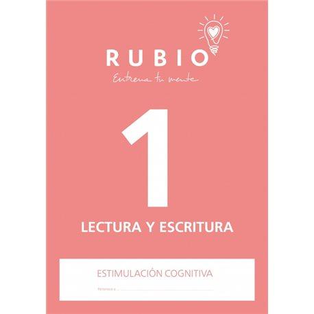 1 Lectura y Escritura - cuaderno adultos Rubio Comunicación y lenguaje