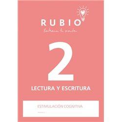 2 Lectura y Escritura - cuaderno adultos Rubio Comunicación y lenguaje
