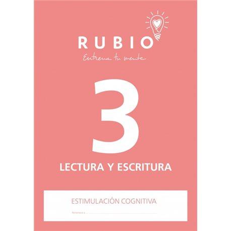 3 Lectura y Escritura - cuaderno adultos Rubio Comunicación y lenguaje
