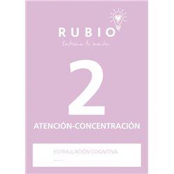 2 Atención y Concentración - cuaderno adultos Rubio Atención