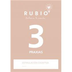 3 Praxias - cuaderno adultos Rubio Praxias