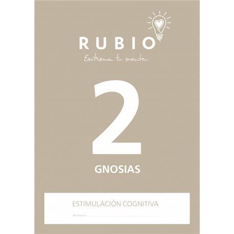2 Gnosias - cuaderno adultos Rubio Percepción y Gnosias