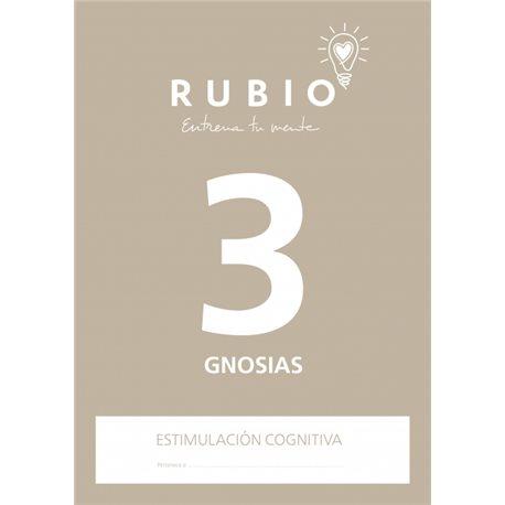 3 Gnosias - cuaderno adultos Rubio Percepción y Gnosias