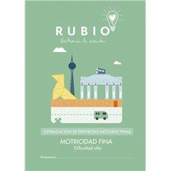Motricidad fina dificultad alta - cuadernillo adulto Rubio Destrezas motoras finas