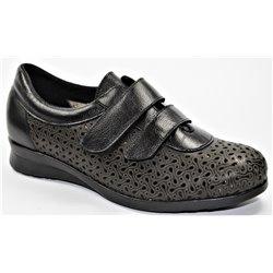 304cb1bc Zapatillas deportivas de mujer pies delicados y ancho especial para ...