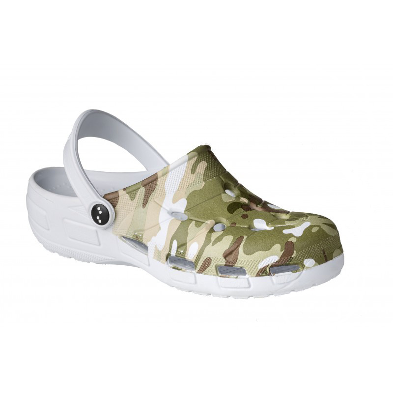 Zueco New Light Camouflage Zuecos y chanclas