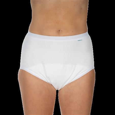 Slip unisex algodón protector incontinencia