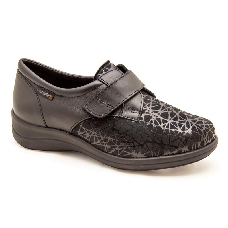 Zapatos mujer Calzamedi 0724 Negro