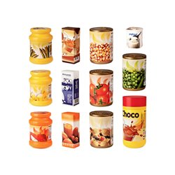 Alimentos envasados (12 unidades)