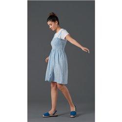 Sandalia estilo mediterráneo Saguy´s 20648 Azul