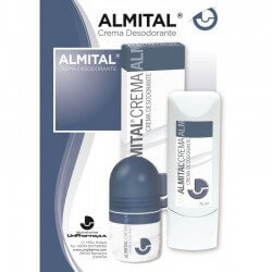 Almital Crema Rollon de 75 ml.
