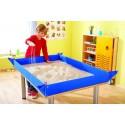 Lona pvc impermeable para experimentos 120x80 Arena y agua