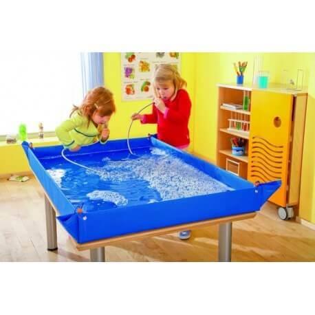Lona impermeable para experimentación 80x80 Arena y agua