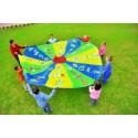 Manta Circular con Motívos Juegos grupales y colaborativos