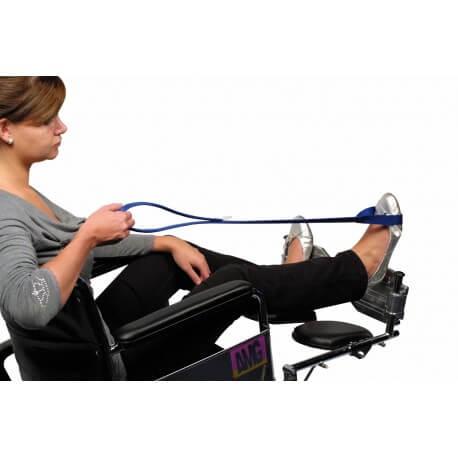 Ayuda para elevación de piernas EZ - L Transferencia y elevación
