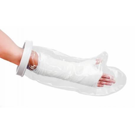 Guante protector de brazo para ducha o baño - niños Protectores vendajes y escayolas