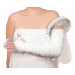 Protector impermeable brazo entero de ducha o baño
