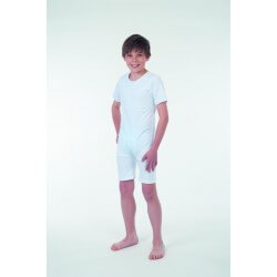 Ropa interior niño antipañal manga corta