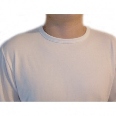 Camiseta interior adaptada manga larga hombre Camisetas interiores