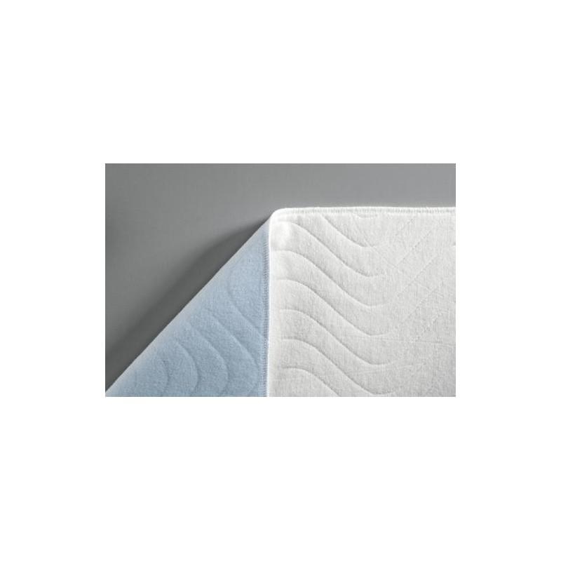 Protector de cama con varias capas de algod n con partes - Protector de cama ...