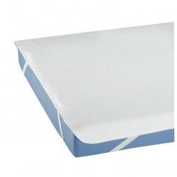 Protector colchón Molton con gomas elásticas esquineras